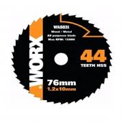 Disco Serra P/ Alumínio 76mm Worx WA5031