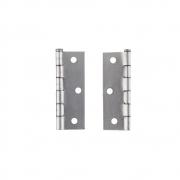 Dobradiça Aço Polido p/ Portas 1/2 Pol. 2IH Excellent