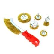 Escova de Aço para Furadeira e Retífica com 6 Peças 8ZJ Eda