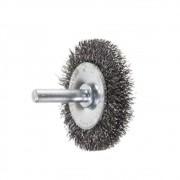 Escova Rotativa Circular Ondulada com Haste c/Haste 50MM 14514 Rayco