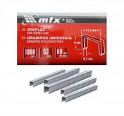 Grampos 6mm Coroa 53 com 1.000 unidades 412069 MTX