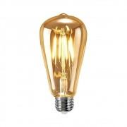 Lâmpada de LED Filamento Bulbo Bivolt 4W E27 ST64 Embuled