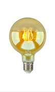 Lâmpada Filamento LED Retrô 4W G125 Embuled