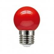Lâmpada LED Bolinha Vermelha E27 6W Bivolt LM279 Luminatti