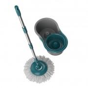 Mop Giratório de 8L Com Cabo Em Aço Inox + 2 Refis - Rayco