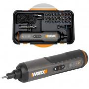 Parafusadeira a Bateria 4V Screwdriver Pen Worx WX240