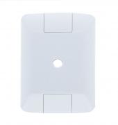 Placa 4X2 1 Furo 9,5mm Aria Branca 57203002 - Tramontina