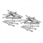 Rebites de Alumínio com Repuxo 3.2 X 6MM 50 Peças 406109 MTX