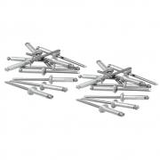Rebites de Alumínio com Repuxo 3.2 X 8MM 50 Peças 406209 MTX