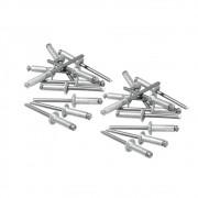 Rebites de Alumínio com Repuxo 4.0 X 6MM 50 Peças 406319 MTX