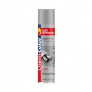 Tinta Spray Alta Temperatura Uso Externo Alumínio ChemiColor