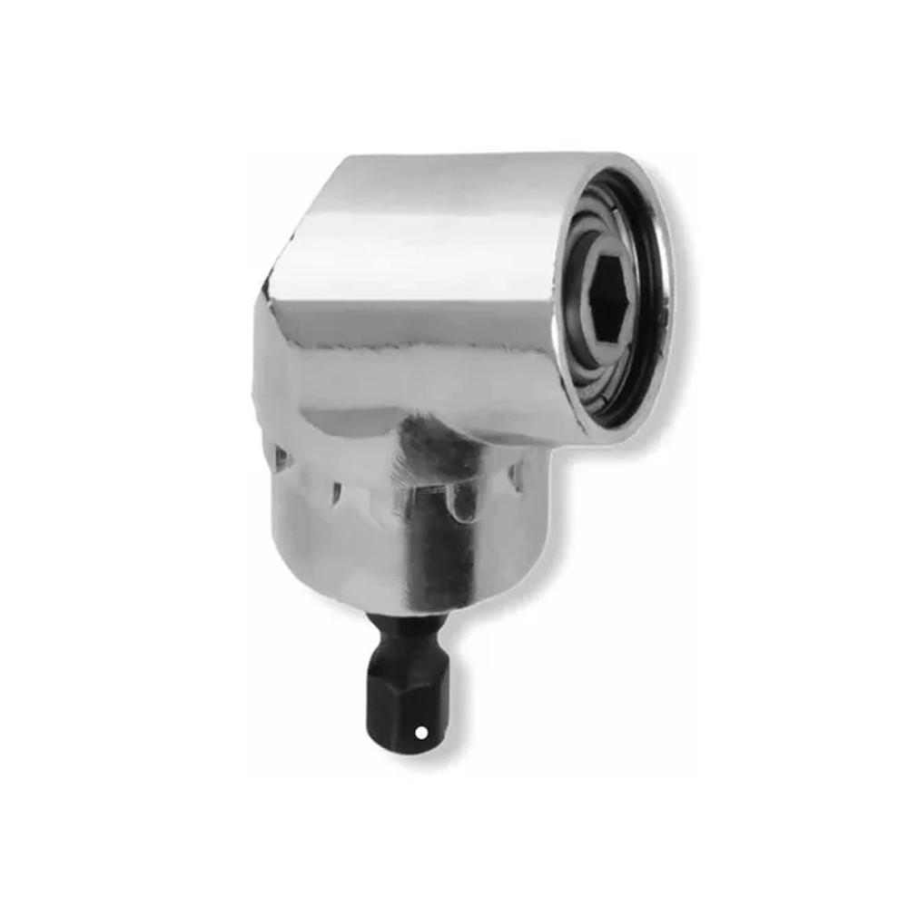 Adaptador de Aço para Bits 105° Cor Prata 0069 Charbs
