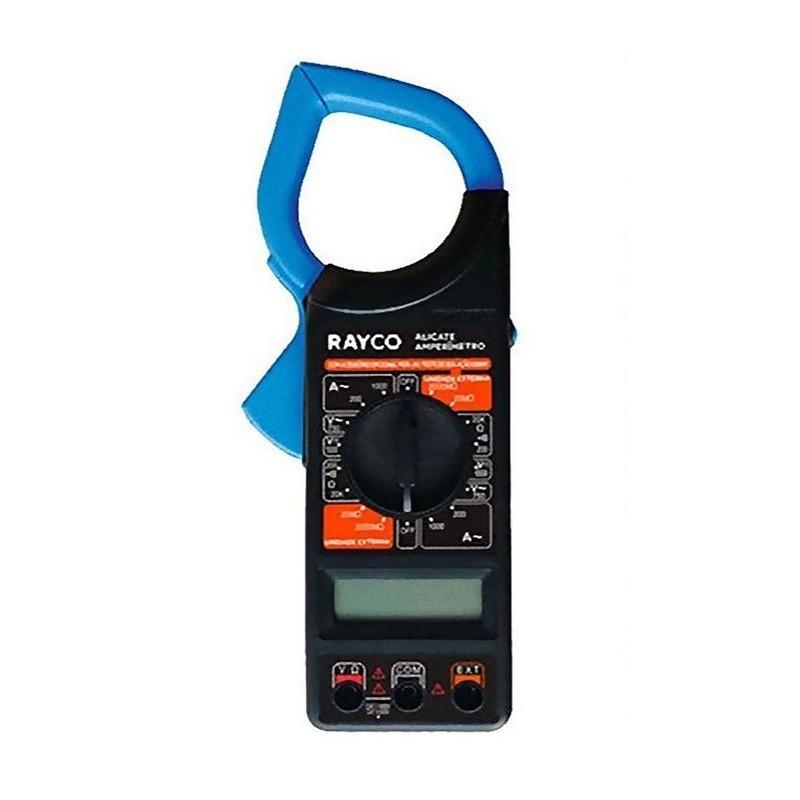 Alicate Amperímetro Digital Multímetro C/ Estojo 12123 Rayco