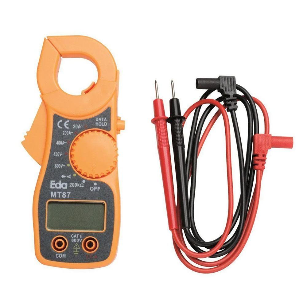 Alicate Fixador Amperímetro Profissional Digital 9KE Eda