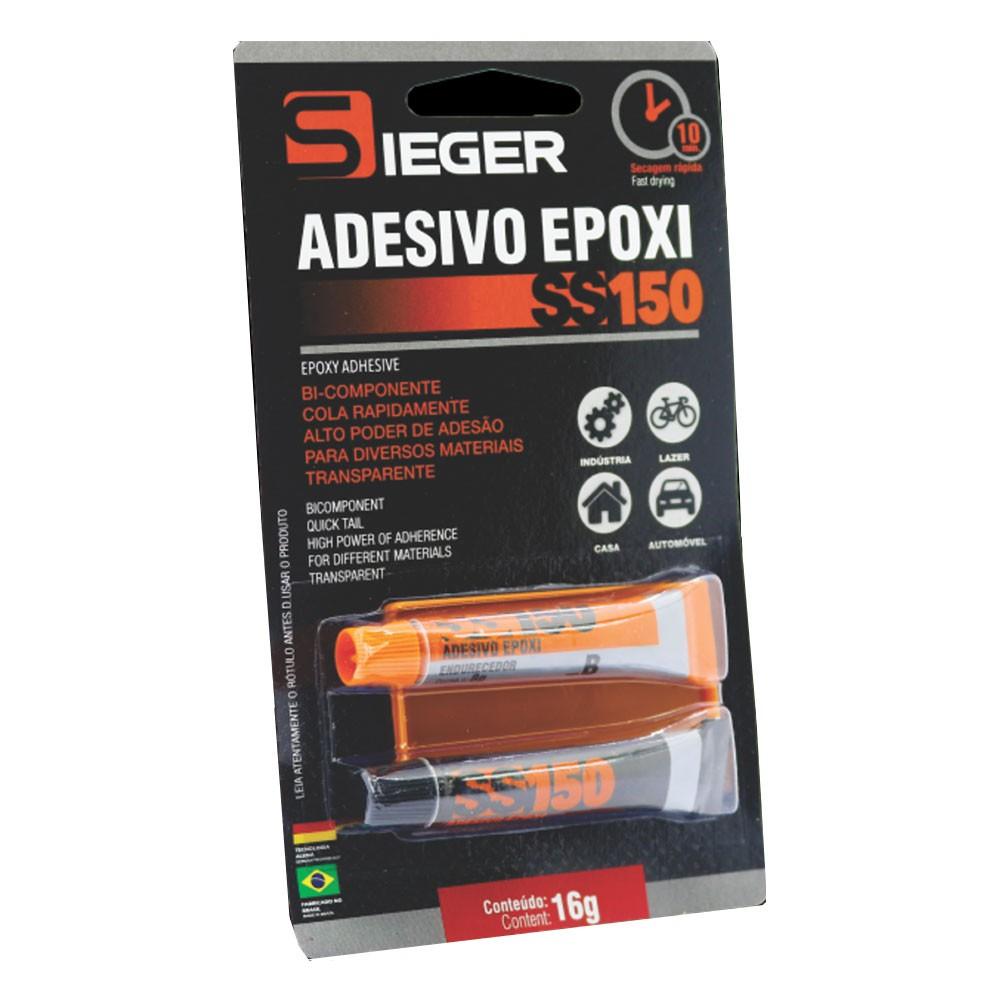 Aplicador Adesivo Epoxi Liquido Transparente SS150 Sieger