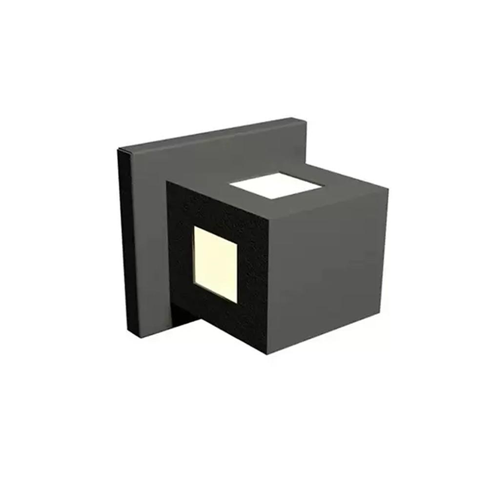 Arandela para Iluminação Externa Flash Quadrada Bivolt 957
