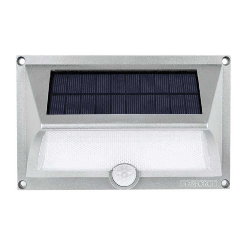 Arandela Solar ABS com Sensor de Movimento 17151 Ecoforce