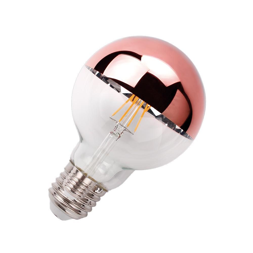 Ballon Led Filamento Defletora Âmbar Rose LM1066 Luminatti