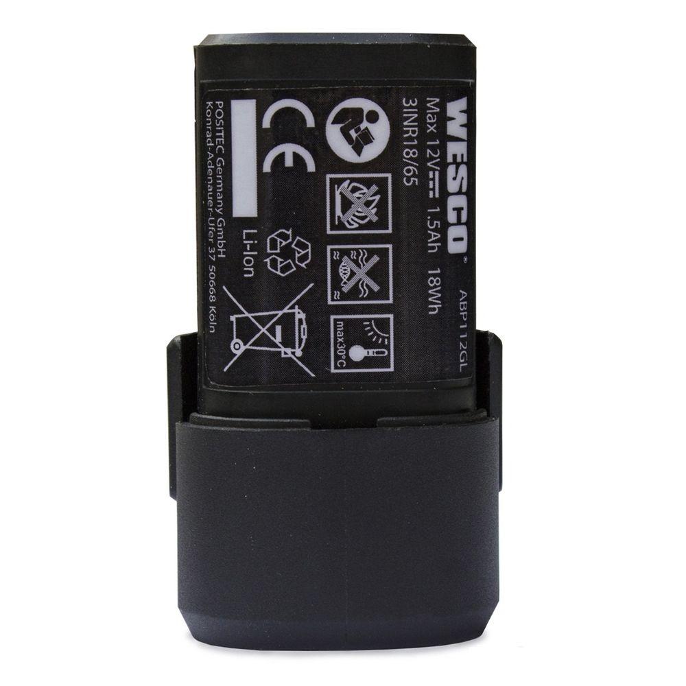 Bateria 12V Íons de Litio 1.5Ah WS9879 Wesco