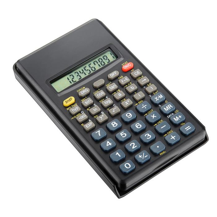 Calculadora Científica Preta CC56 Funções c/10 Dígitos Elgin