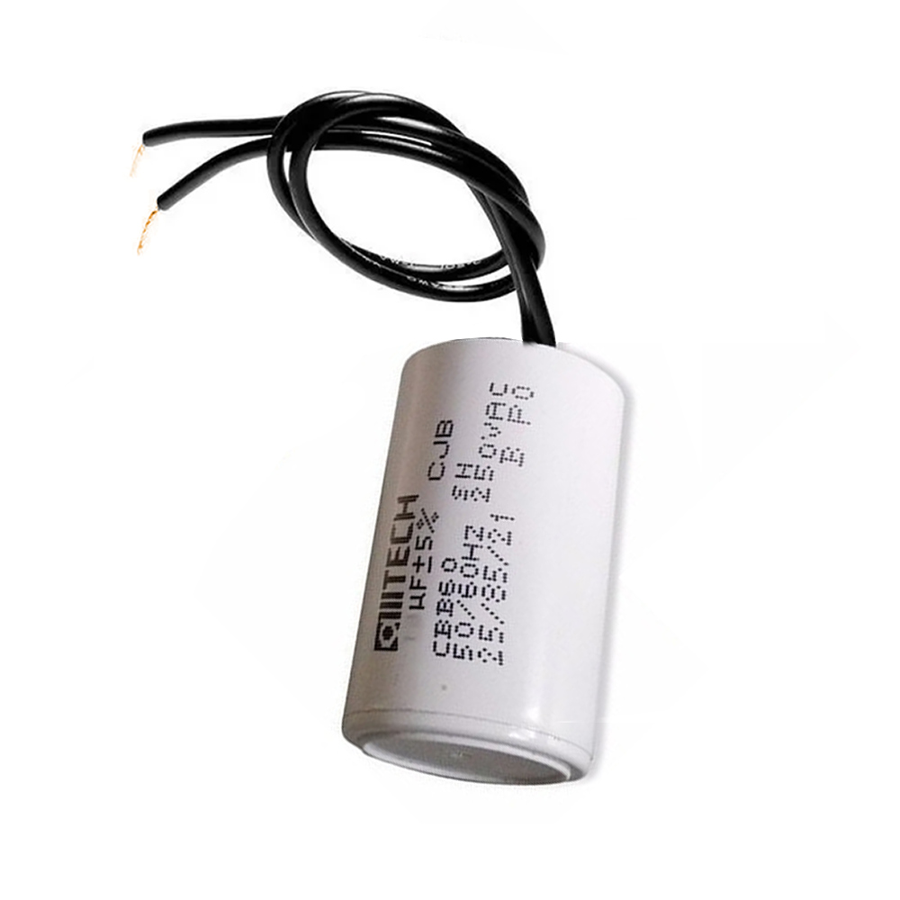 Capacitor com 2 Fios Metalizados para Motor 12UF 250 VAC MVM