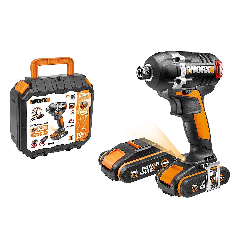 Chave de Impacto Bateria 20V Brushless Bivolt WX292 Worx