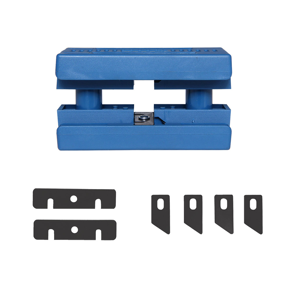 Combo Refilador de Bordas + Kit de Lâminas de Aço Vaz Tools