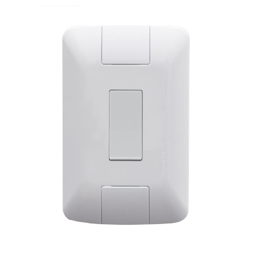 Conjunto 1 Interruptor 4x2 Paralelo Aria 57241002 Tramontina