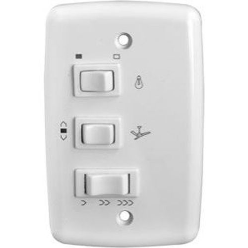 Controle para Ventilador de Teto 3 Velocidades com Capacitor Rima Tompografia