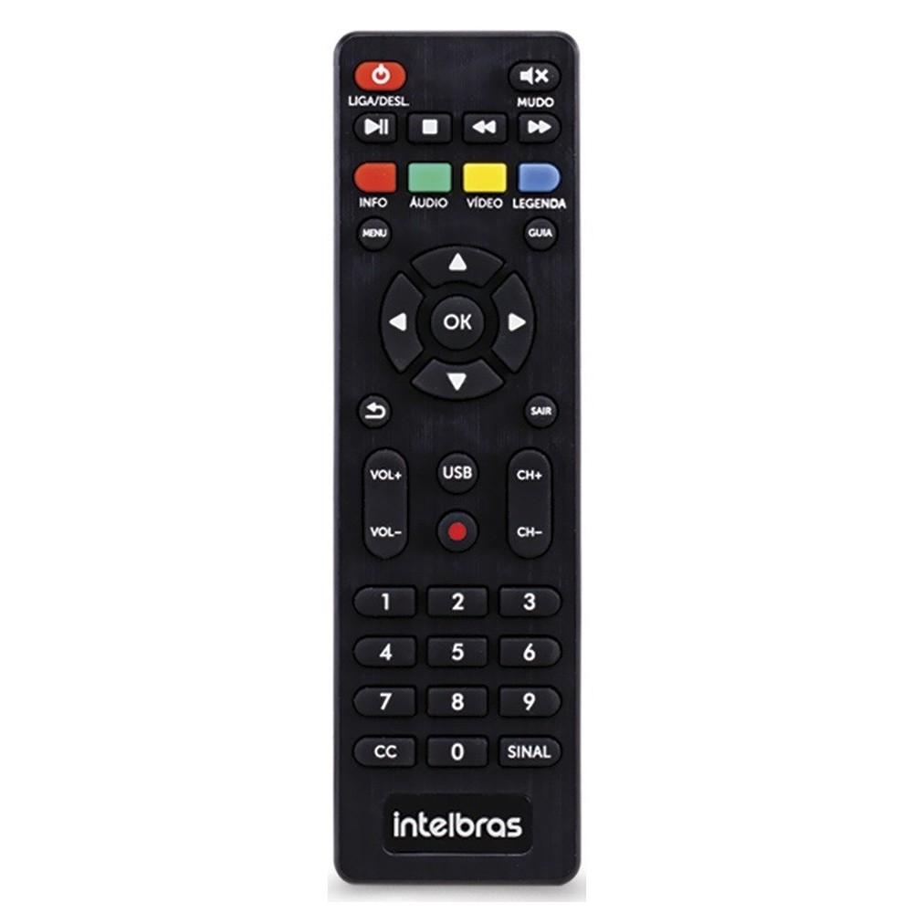 Conversor Digital de TV com Gravador 4G CD 700 Intelbras