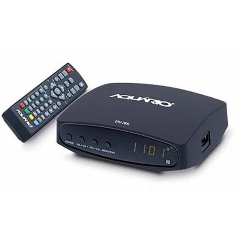 Conversor e Gravador Digital Full HD DTV-7000S Aquário