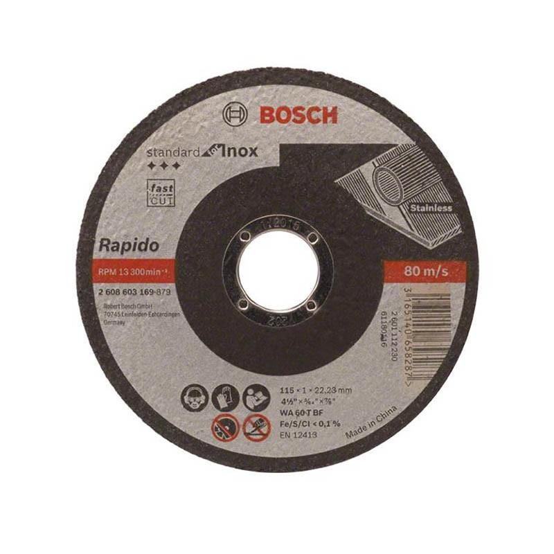 Disco Corte Inox G60 Bosch 2608603169