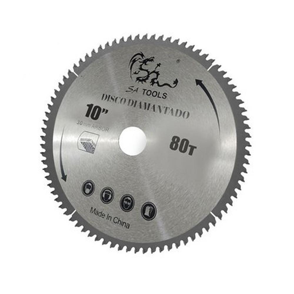 Disco de Widea para Serra Circular 10 Polegadas 80T Sa Tools