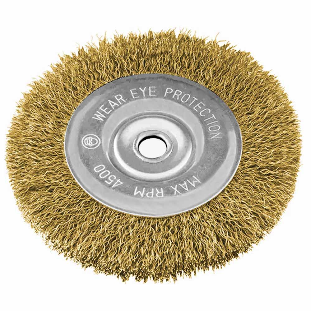 Escova Aço Carbono Ondulada Tipo Circular 150MM 746649 MTX