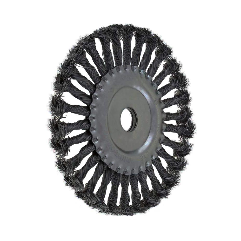 Escova de Aço Carbono Circular Fio Torcido 100MM 746309 MTX