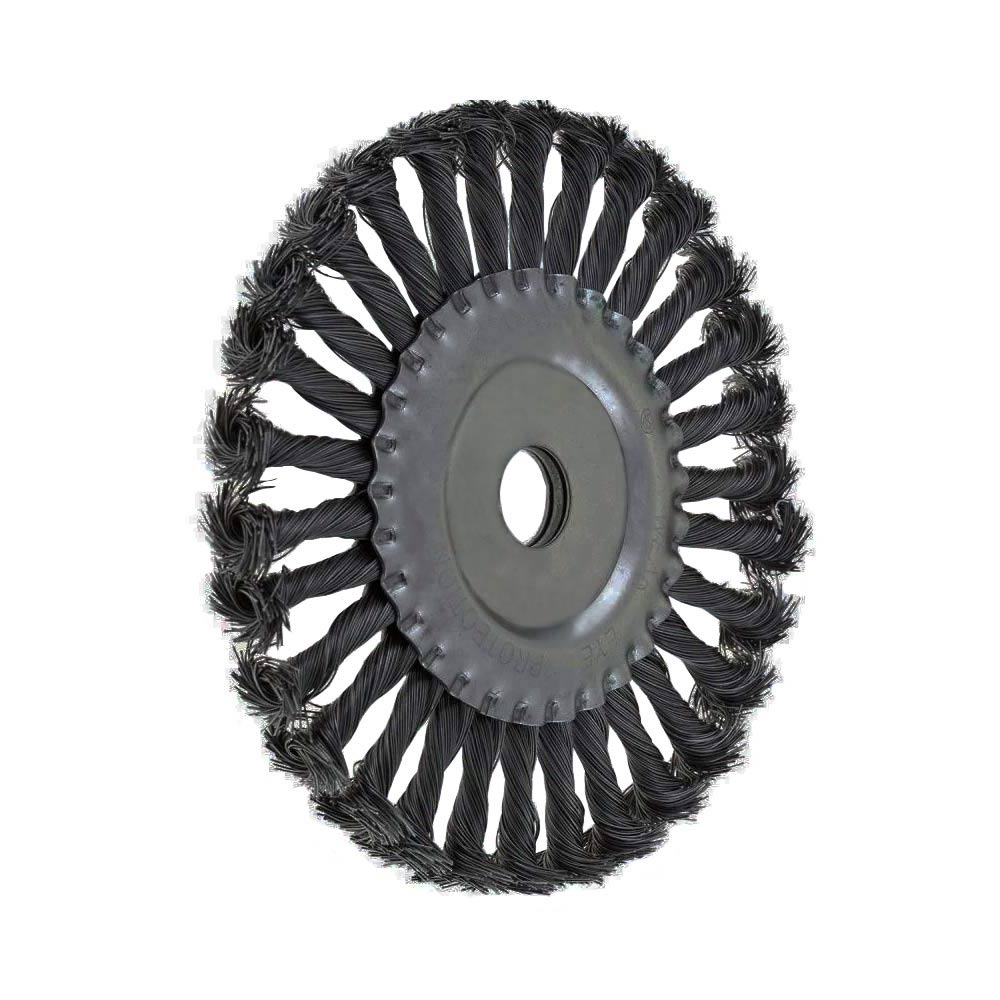 Escova de Aço Carbono Circular Fio Torcido 150MM 746349 MTX