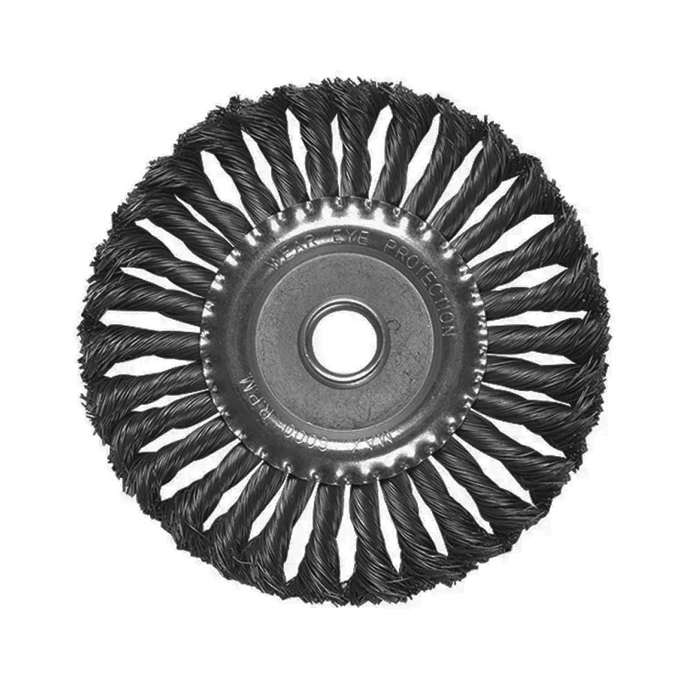 Escova de Aço Carbono Circular Fio Torcido 175MM 746369 MTX