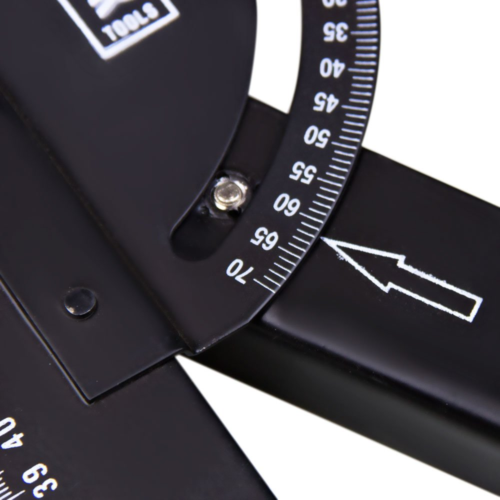 Esquadro com Ângulo Regulável 550 mm Black Jack D096