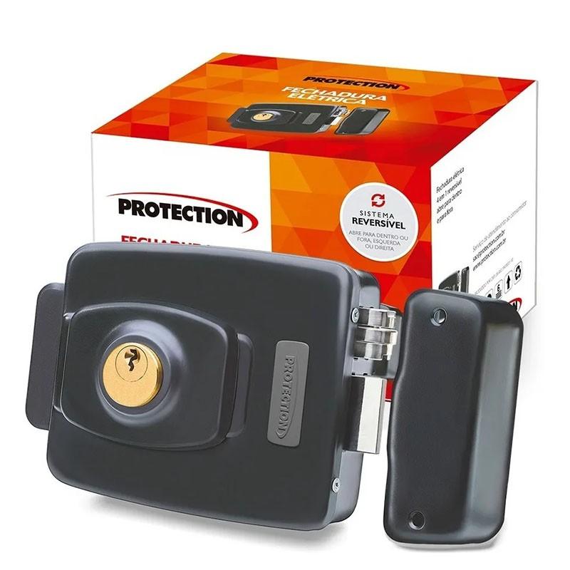 Fechadura Elétrica Sistema Reversível PT-710 Protection