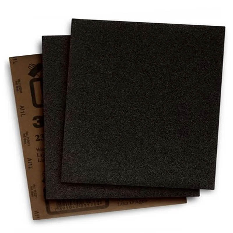 Folha de Lixa para Metal (D'água) Grão 1500 7562855 MTX