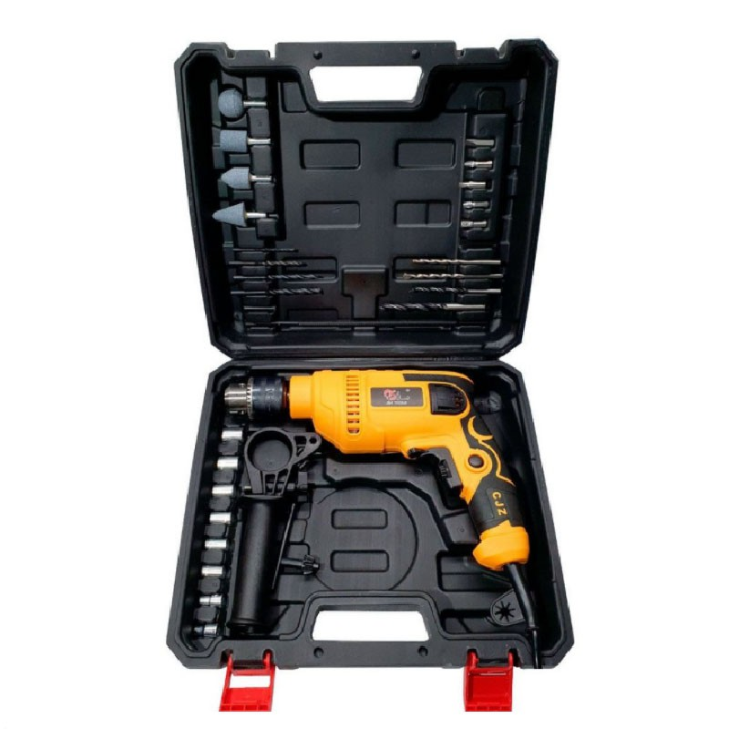 Furadeira Impacto 650W  Maleta 28 Acessórios SA2601 SA Tools