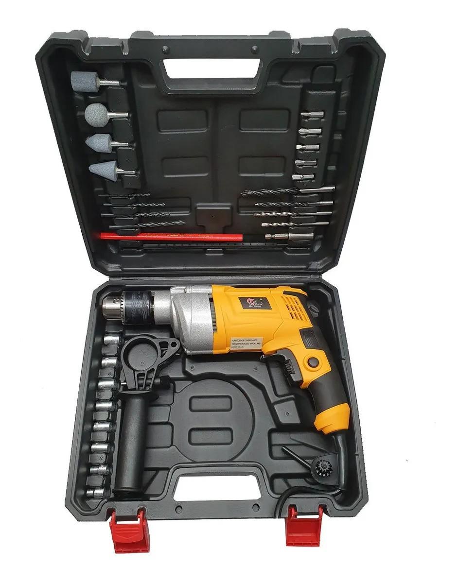 Furadeira Impacto 720W  Maleta 28 Acessórios SA2660 SA Tools