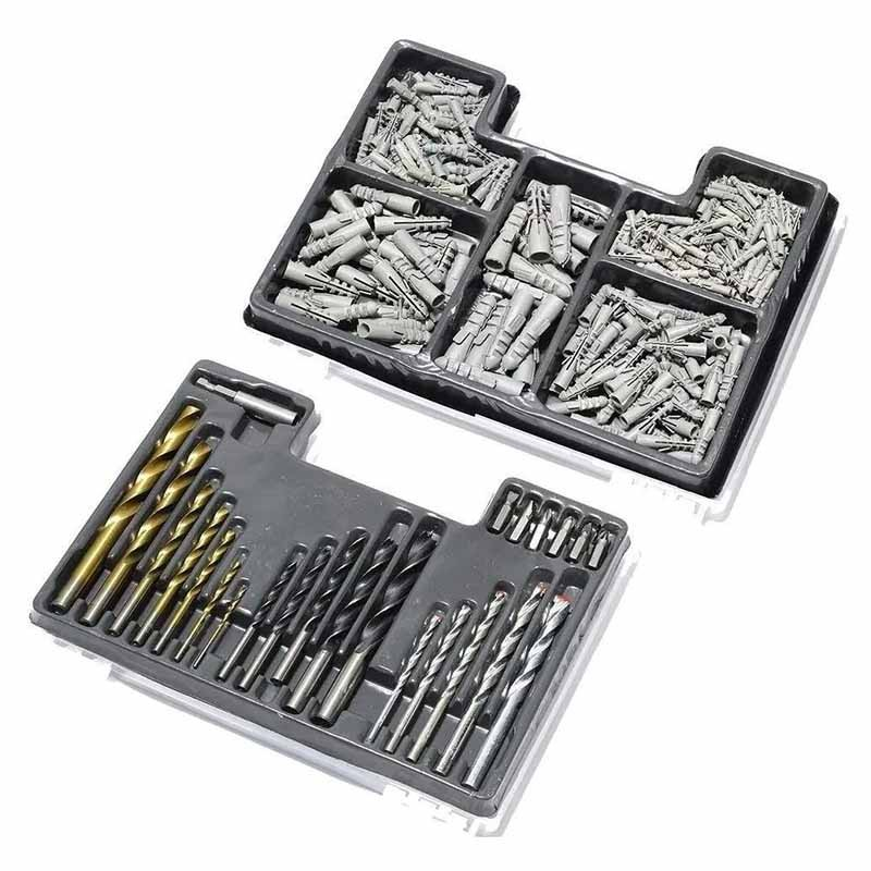 Jogo de Brocas Bits e Buchas Com 300 Peças 725779 MTX