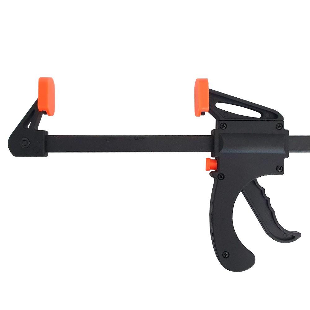 Kit 4 Grampos Sargento de Aperto Rápido 150mm Charbs