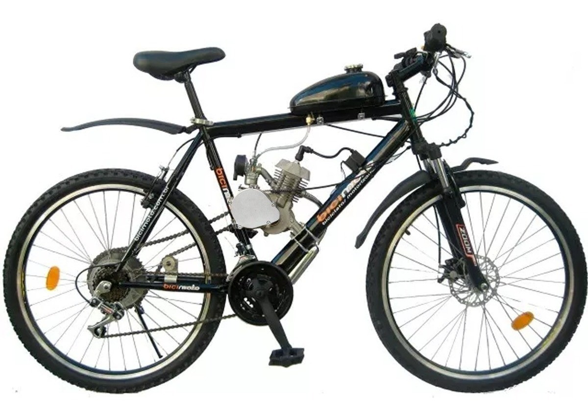 Kit Motor Para Bicicleta  a Gasolina 80cc 2 Tempos