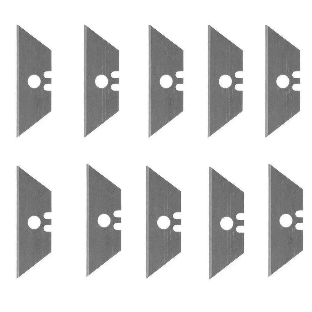 Lâmina Trapezoidal para Estilete Retrátil c/10 Peças 0AF Eda
