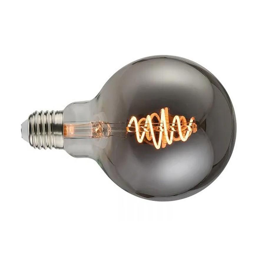 Lâmpada Bulbo Filamento Black Twist p/Luminária G125 MAKLED