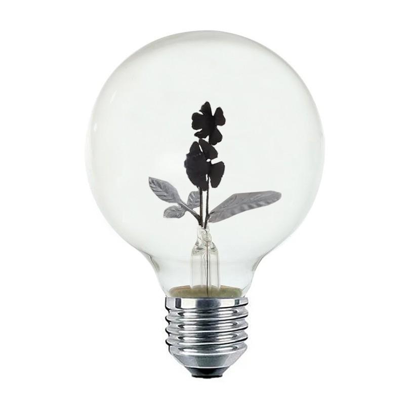 Lâmpada c/ Efeito Neon Orquídea 3Wats Lilás 00812 IlumiSampa