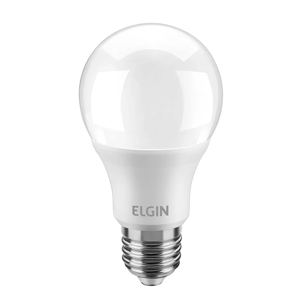 Lâmpada de LED Bulbo 15W Branca Fria 1.350 Lumens A60 Elgin