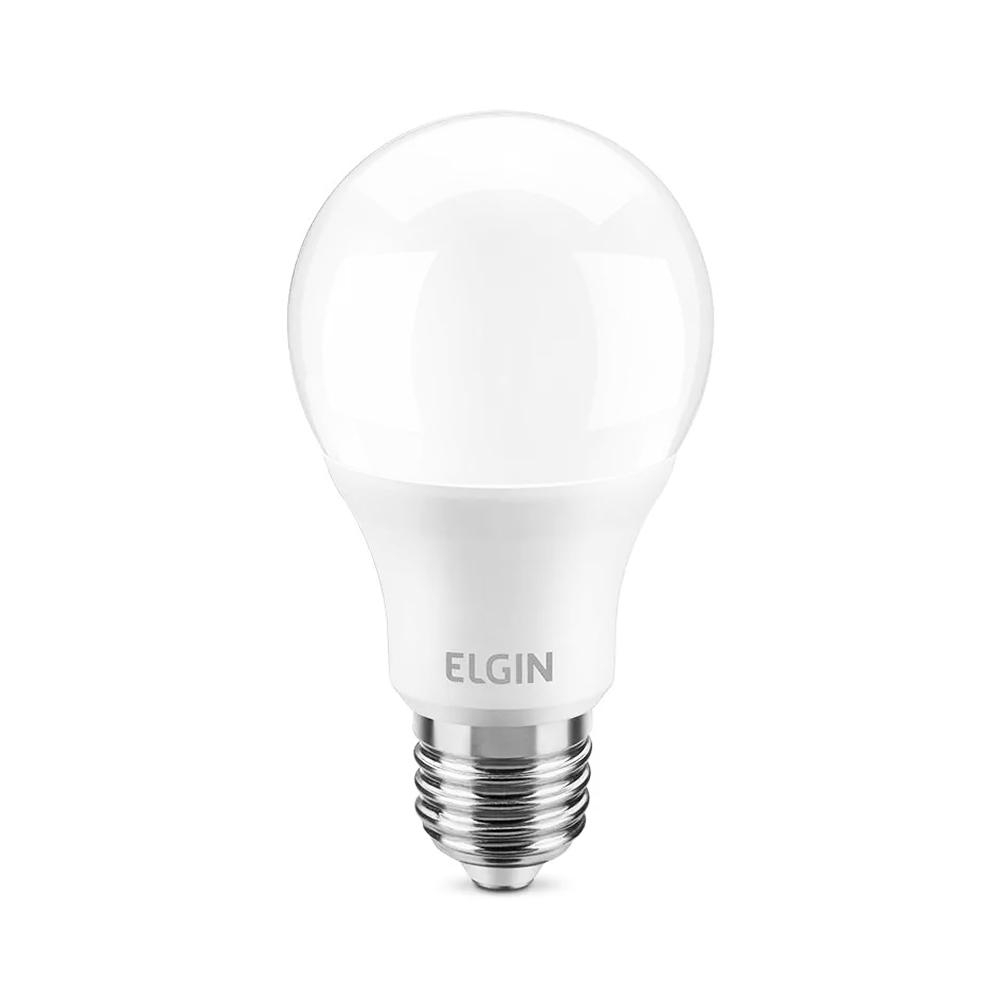Lâmpada de LED Bulbo 9W 12V Branca Fria 600 Lumens A60 Elgin